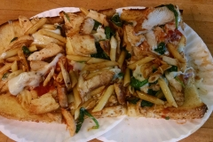 garlic-bread-chicken-spinach-pene-marinara-mild-and-sharp-provalone